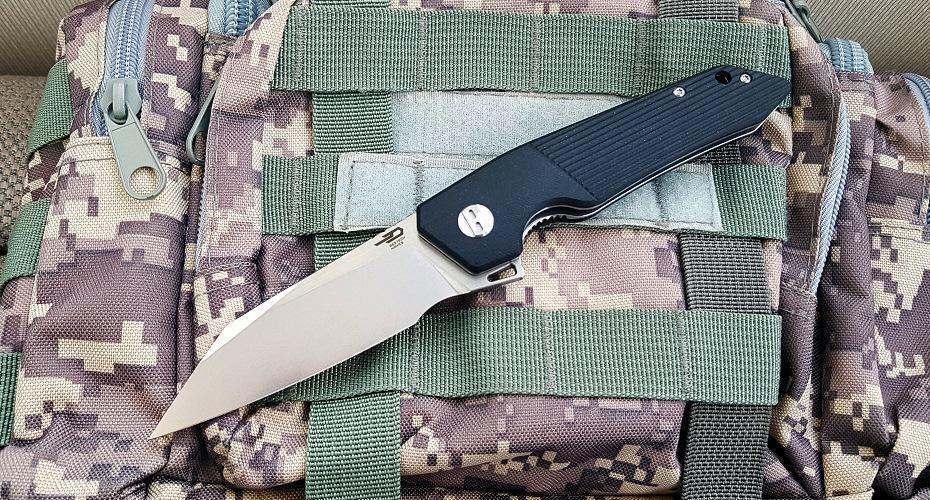 Нож складной Bestech Barracuda D2