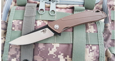 Нож складной Bestech knives Spike brown