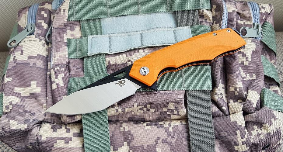 Нож складной Bestech Toucan orange