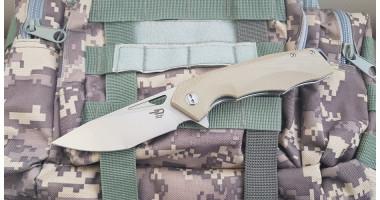 Нож складной Bestech Toucan white