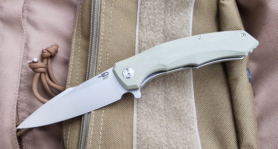 Нож складной BESTECH knives Warwolf  D2