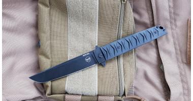 Нож складной-флиппер Brutalica Badyuk-Tanto black/blackwash