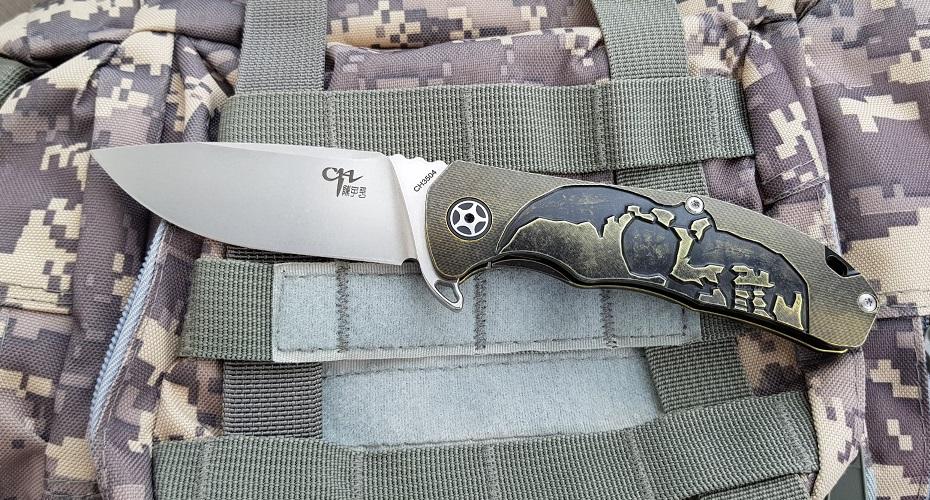 Нож складной CH Outdoor CH3504  S35VN