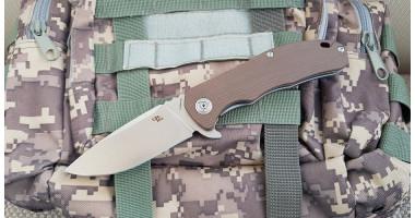 Нож складной Ch 3504 G10 Brown