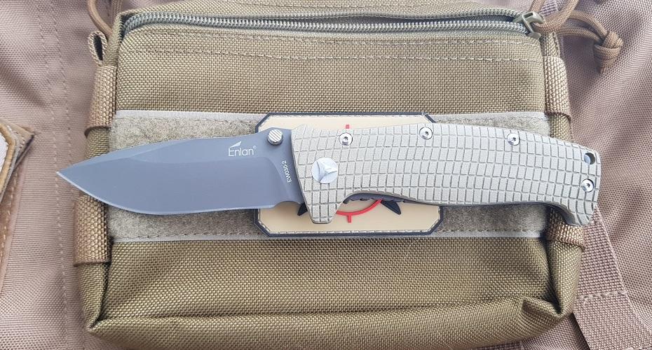 Нож складной ENLAN EW030-2 8Cr13MoV