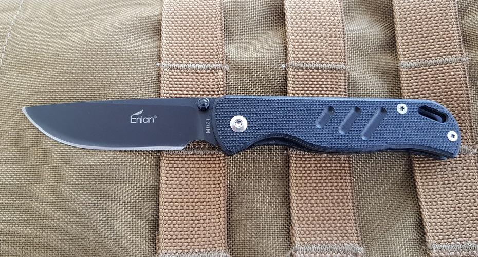 Нож складной ENLAN m021bg 8Cr13Mov