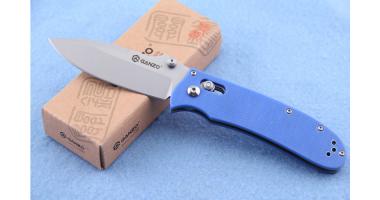 Нож складной GANZO G704 BLUE 440C