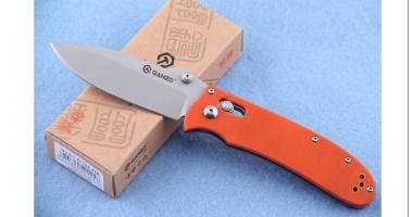 Нож складной GANZO G704 ORANGE 440C