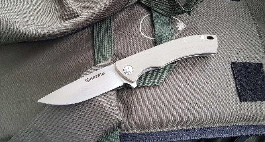 Нож складной HARNDS CK9168 Talisman Sand AUS-8
