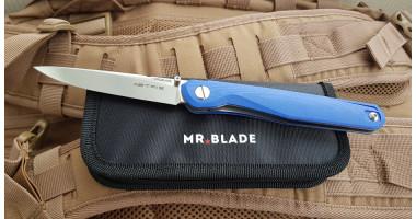 Нож складной Mr.Blade Astris (Сергей Шнуров) сталь D2 BLUE handle G10