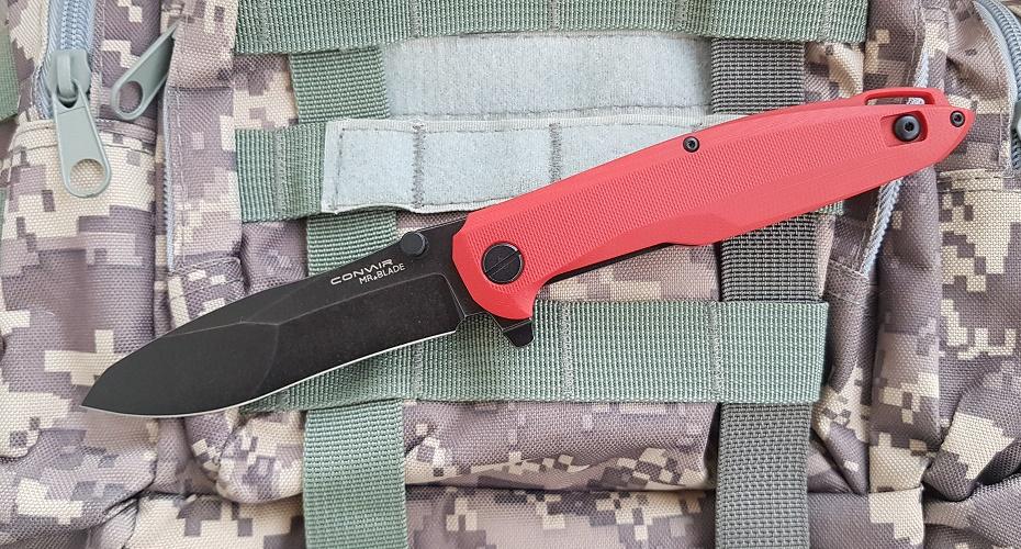 Нож складной Mr.Blade Convair Red D2