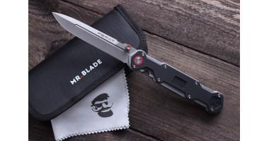 Нож складной Mr.Blade Ferat stonewash D2