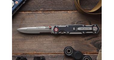 Нож складной Mr.Blade Ferat stonewash полусеррейтор D2