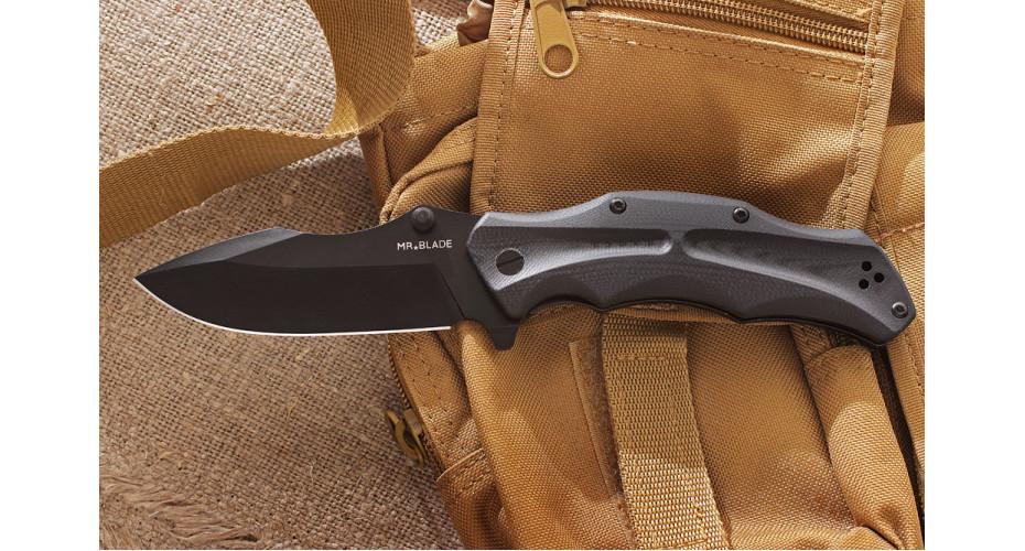 Нож складной Mr.Blade HT1 black D2
