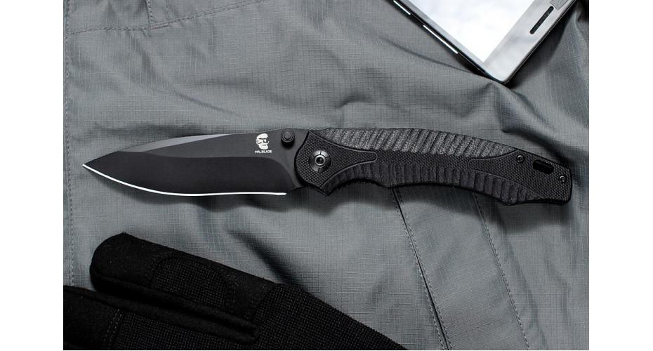 Нож складной Mr.Black Opava black 8Cr14MoV