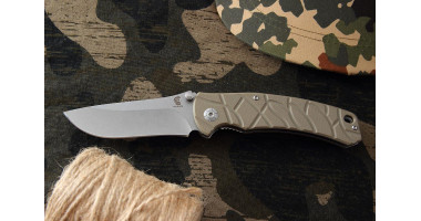Нож складной Mr.Blade Oslava stonewash 8Cr14MoV