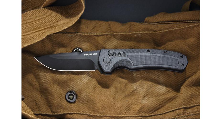 Нож складной Mr.Blade Raven black D2