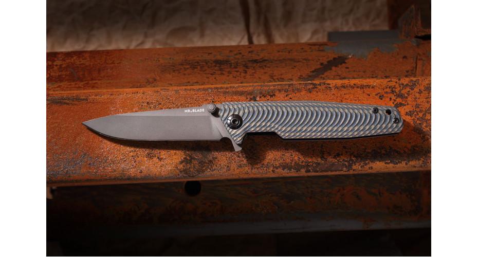 Нож складной Mr.Blade Rift gray  D2