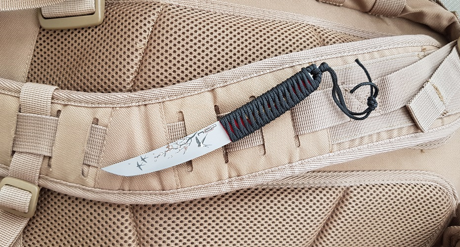 Нож N.C.Custom Haruko Aus-8