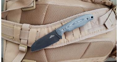 Нож N.C.Custom Tracker Blackwash
