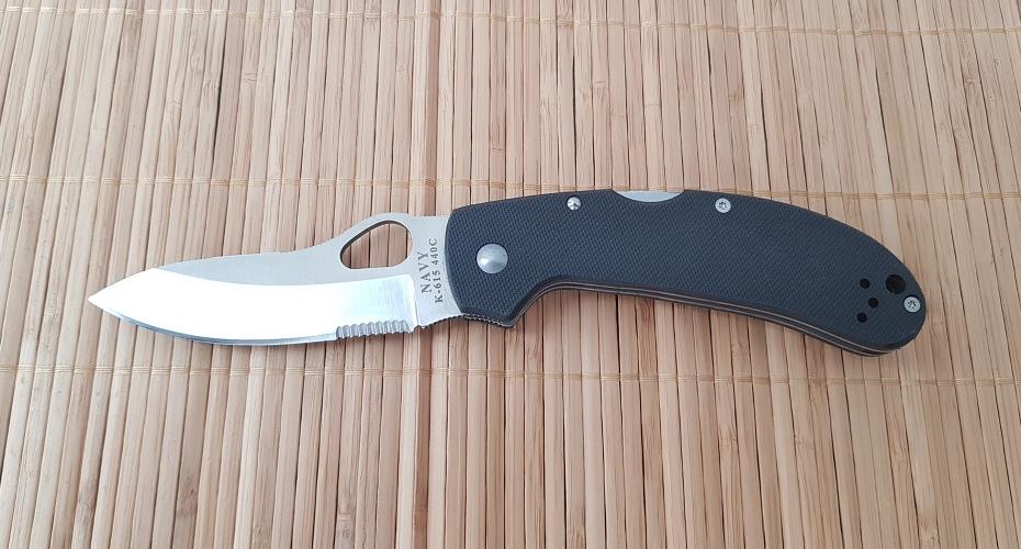 Нож складной Navy K615ps 440C