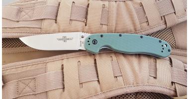 Нож складной ONTARIO RAT 1 - D2 - GREEN