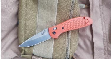 Нож складной BM 551 orange