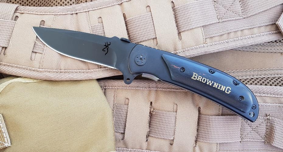Нож складной BROWNING B