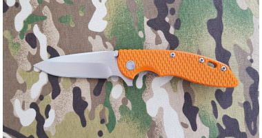 Нож складной реплика HINDERER ORANGE