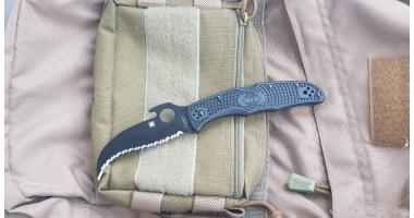 Нож складной Matriarch Black Emerson