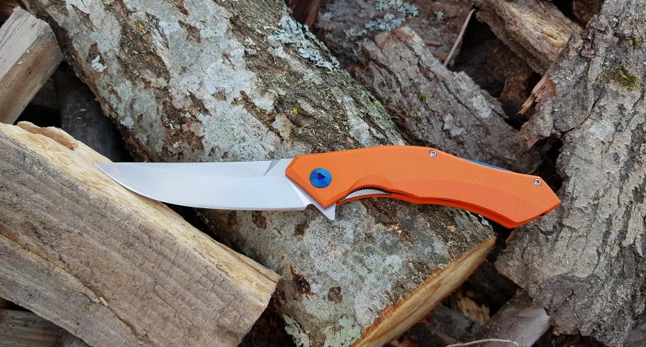 Нож складной Chetki-Orange