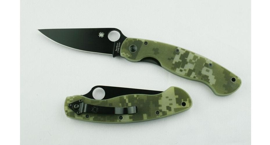 Нож складной реплика MILITARY (CAMO BLACK) 8Cr13Mov