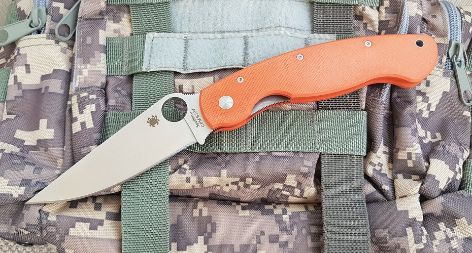 Нож складной реплика MILITARY ( ORANGE) 9Cr13Mov