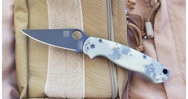 Нож складной реплика Paramilitary 2(CAMO-BLACK)