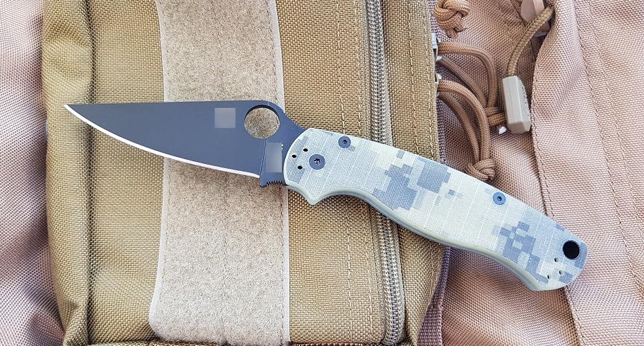 Нож складной реплика Paramilitary 2(CAMO-BLACK) 8Cr13Mov