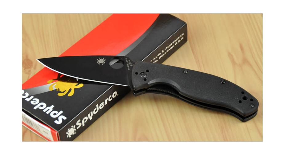 Нож складной РЕПЛИКА spyderco tenacious 8Cr13MoV