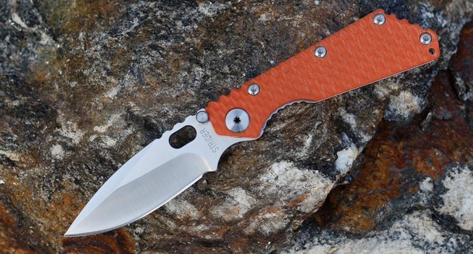 Нож складной реплика STRIDER ORANGE 5Cr13Mov