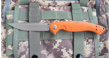 Нож складной Reptilian Франт Оранж