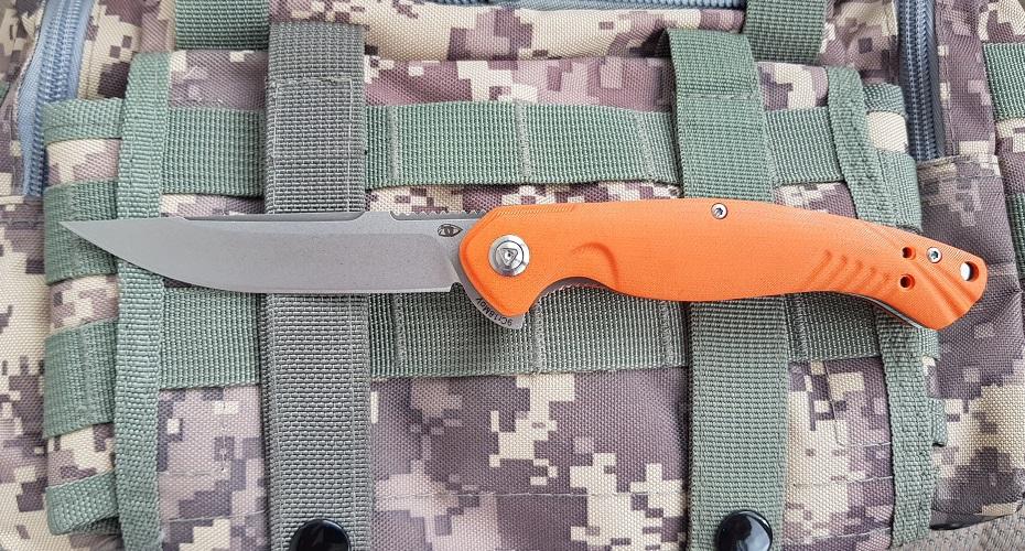 Нож складной Reptilian Франт Оранж 9Cr18MoV