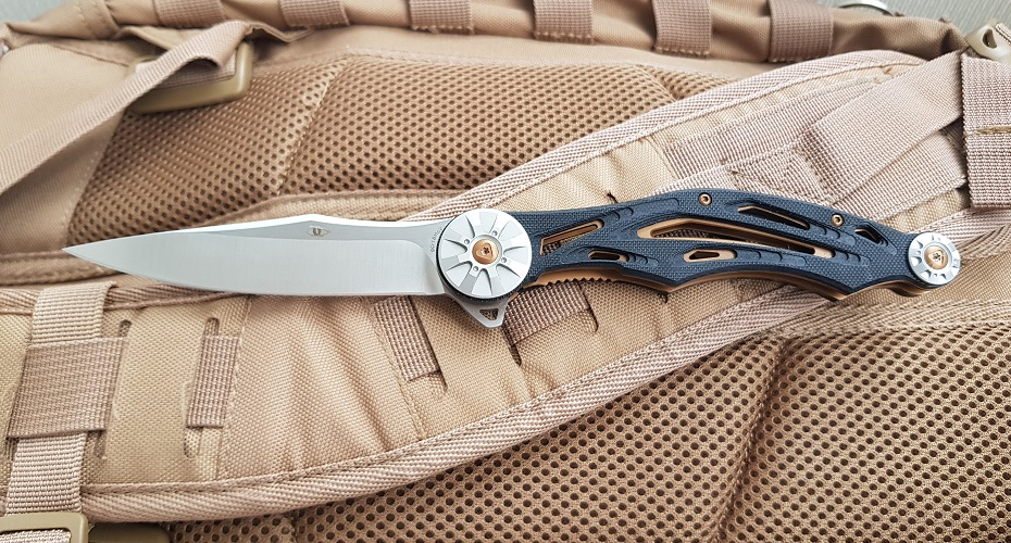 Нож складной Reptilian Moto 9Cr18MoV