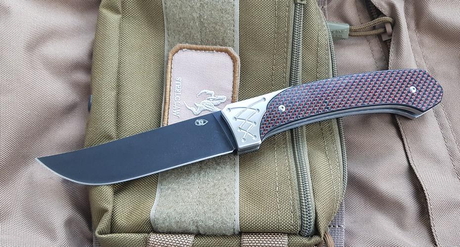 Нож складной Reptilian Пчак 1 red D2