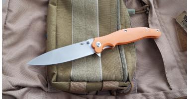Нож складной Reptilian Вояж оранж