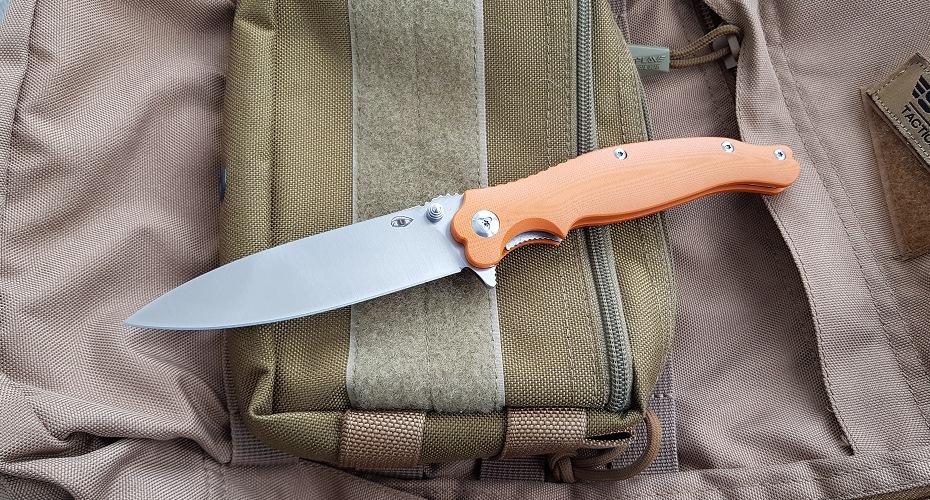 Нож складной Reptilian Вояж оранж D2