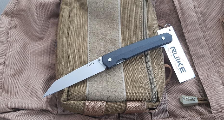 Нож складной Ruike P865-B 14C28N