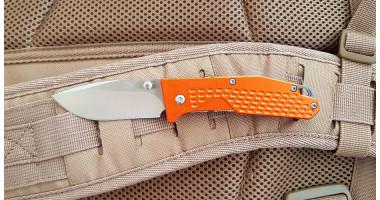 Нож складной SANRENMU 7063 (ORANGE)