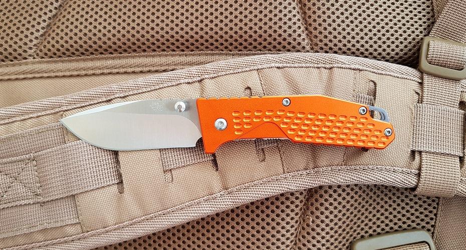 Нож складной SANRENMU 7063 (ORANGE) 8Cr13MoV