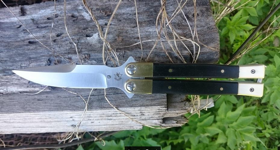 Нож складной STEELCLAW Бабочка D2