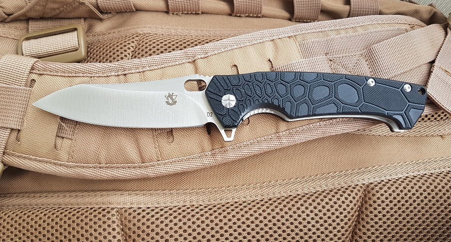 Нож складной STEELCLAW Резус-7 D2