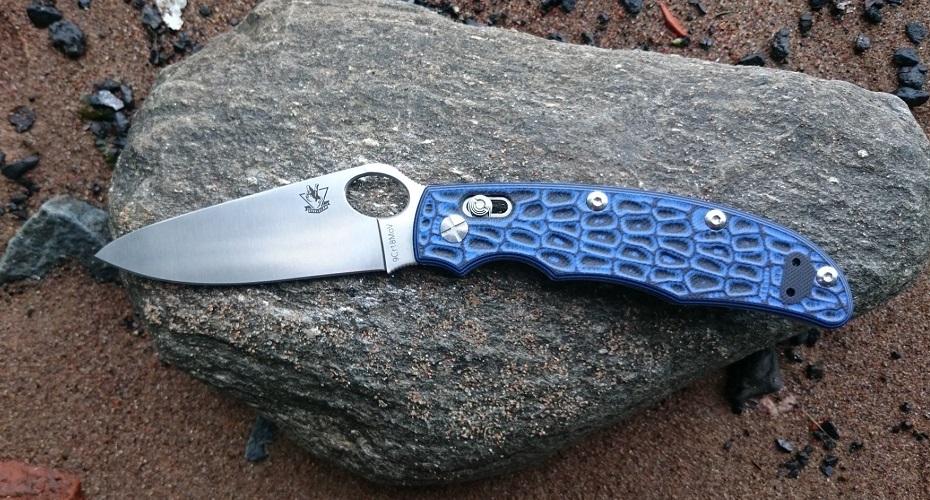 Нож складной STEELCLAW Голем (Синий) 9Cr18MoV