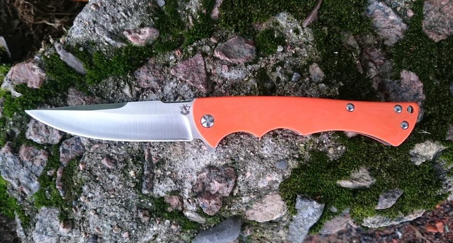Нож складной STEELCLAW Рыжая лиса   D2